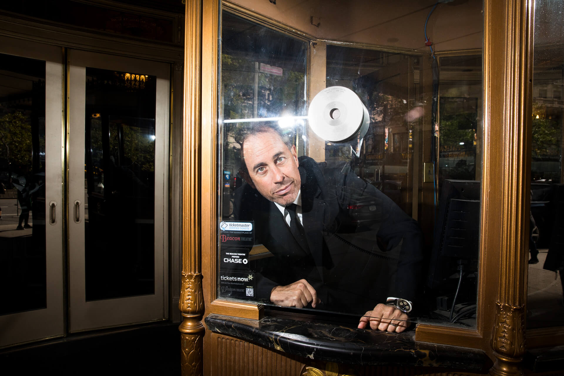 JERRY SEINFELD | THE NEW YORK TIMES | LANDON NORDEMAN