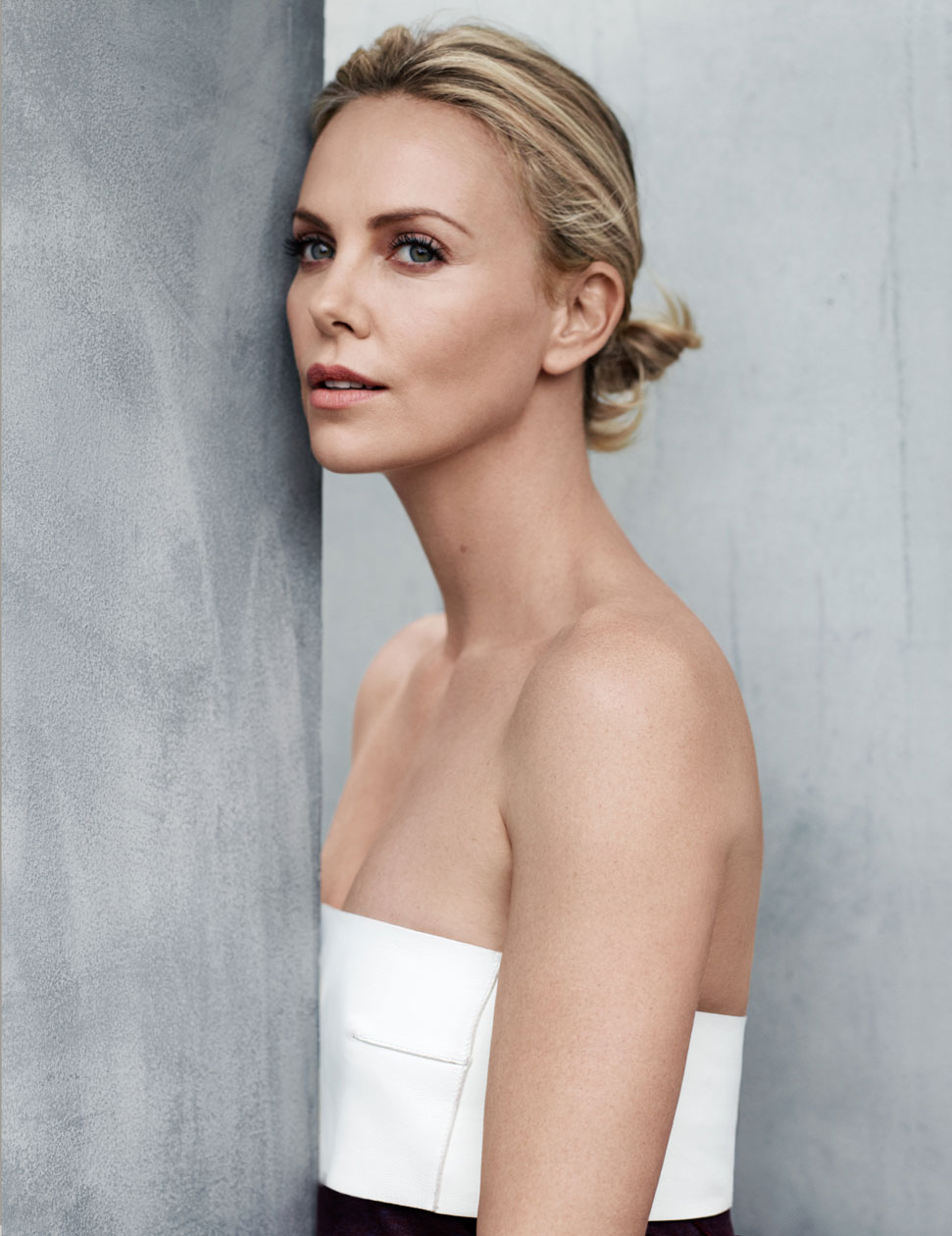 CHARLIZE THERON | ELLE UK | BJARNE JONASSON
