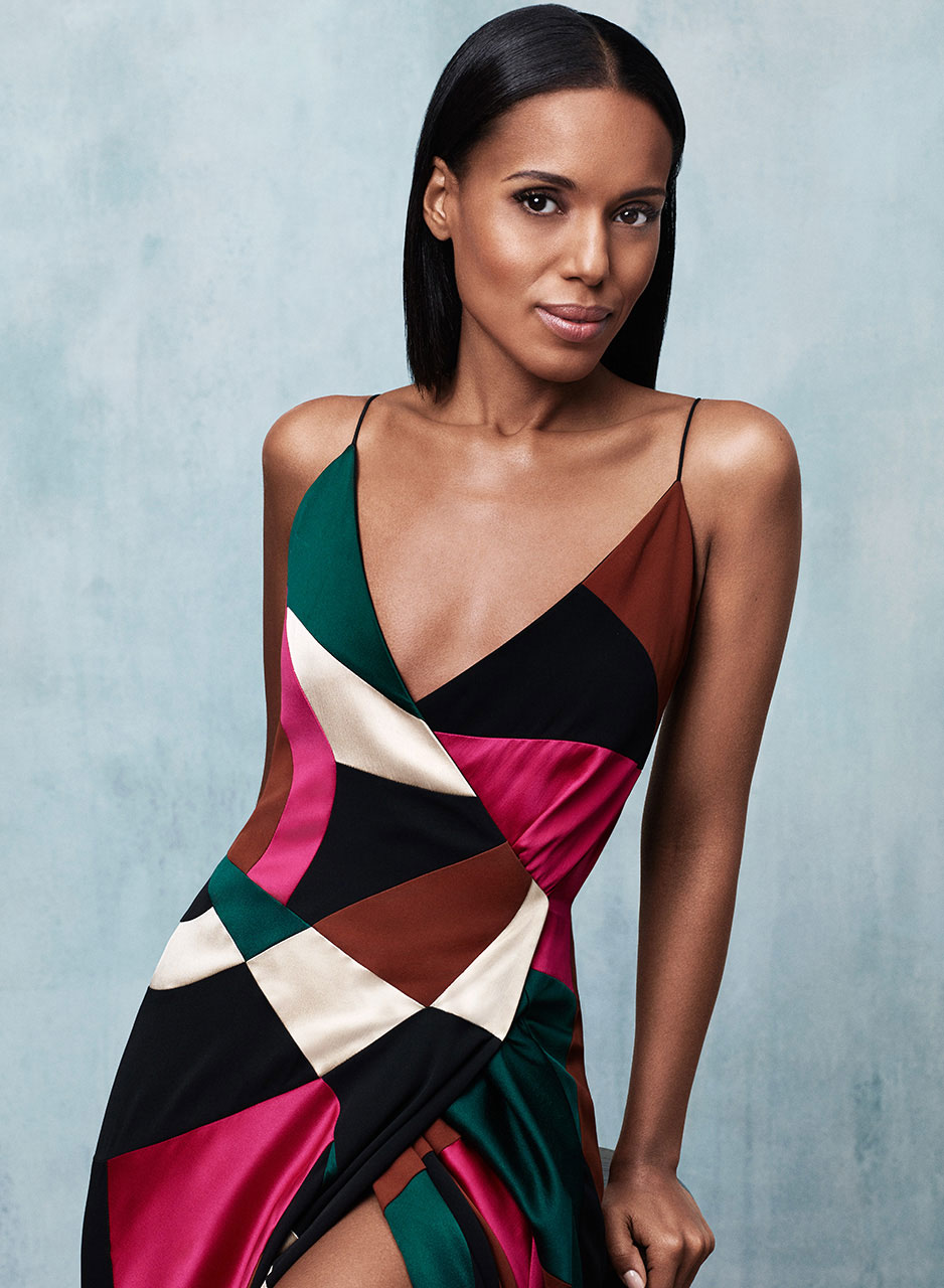 KERRY WASHINGTON | SELF MAGAZINE  | BJARNE JONASSON