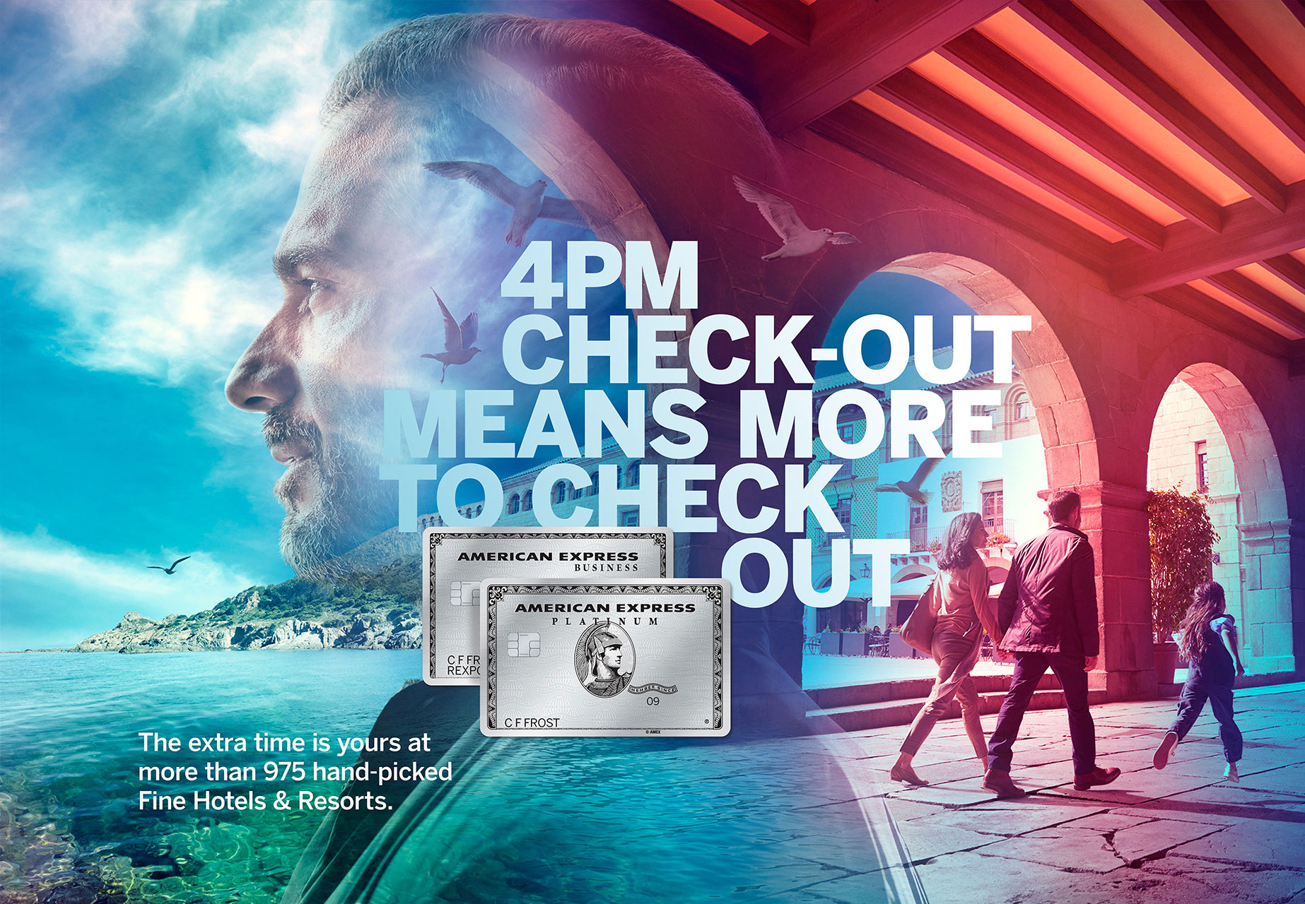 AMERICAN EXPRESS | OGILVY | WILLIAM ABRANOWICZ
