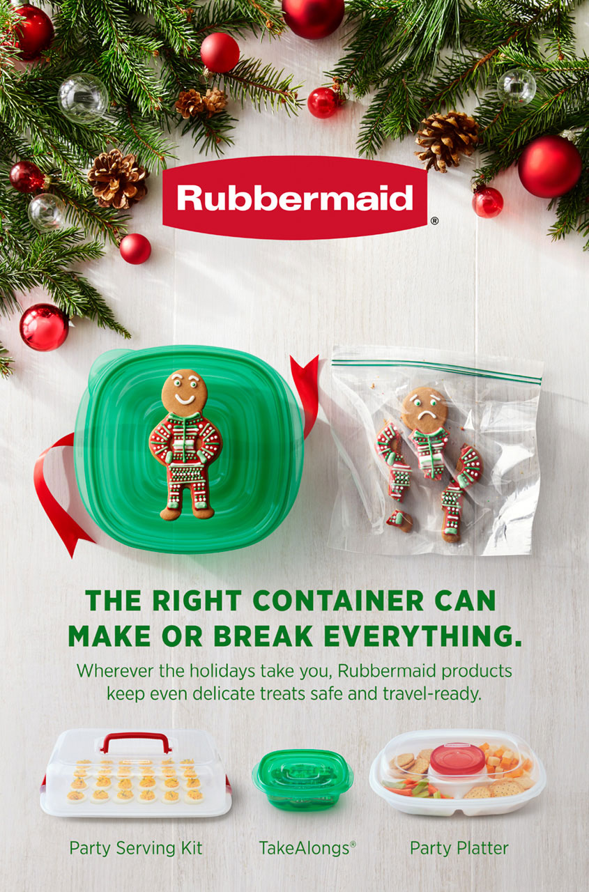 RUBBERMAID | SARAH LAIRD & GOOD COMPANY | SANG AN